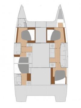 Location yacht à Lávrio - Fountaine Pajot Saona 47 sur SamBoat