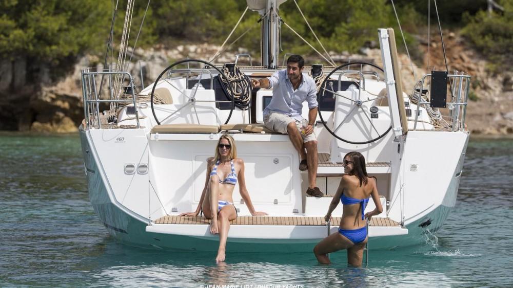 Location bateau Saint-Georges pas cher Dufour 460 Grand Large