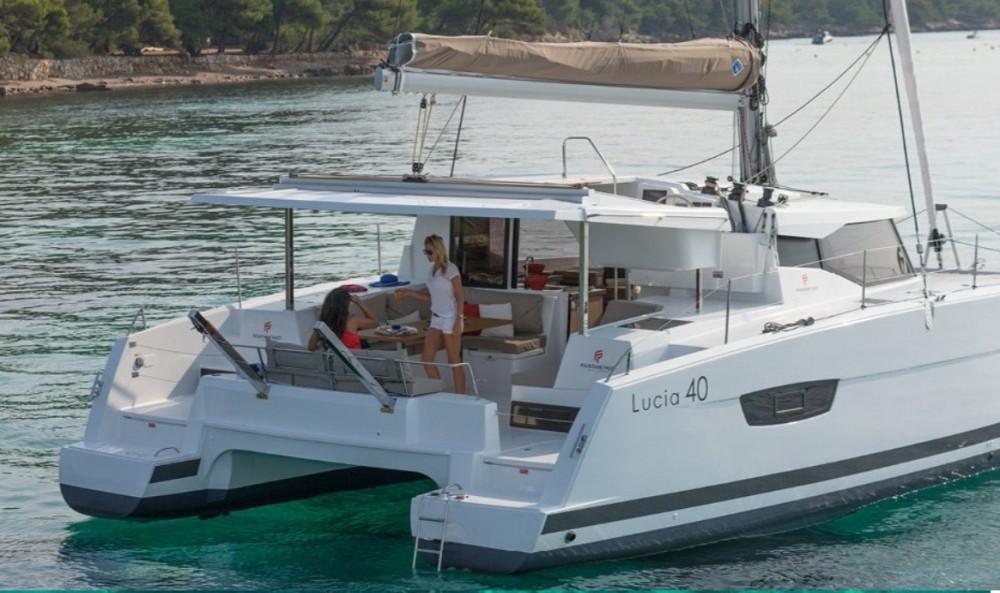 Location bateau Pointe-à-Pitre pas cher Fountaine Pajot