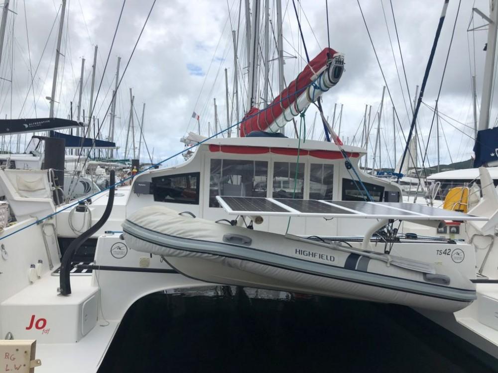 Location Catamaran à Martinique - Marsaudon Composites TS 42