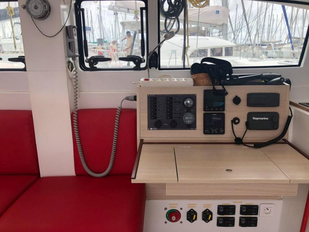 Location Catamaran Marsaudon Composites avec permis