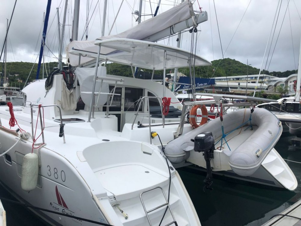 Location yacht à Le Marin - Lagoon Lagoon 380 sur SamBoat