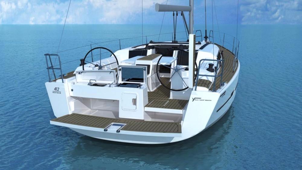 Location bateau Ajaccio pas cher Dufour 412