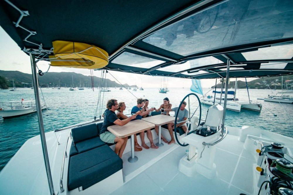 Location bateau Papeete pas cher Lagoon 52