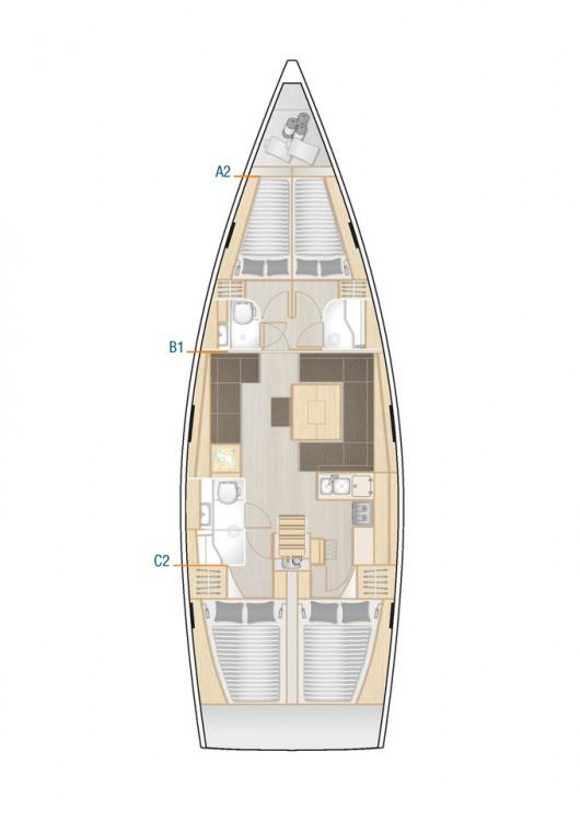 Location yacht à Muğla - Hanse Hanse 458 sur SamBoat