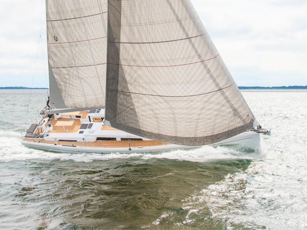Location bateau Péloponnèse pas cher Hanse 548 - 5 cab.