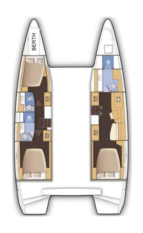 Location bateau Lagoon Lagoon 42 à Tortola sur Samboat