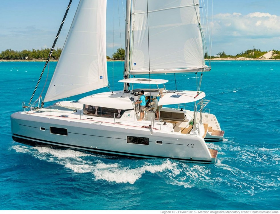 Location Catamaran à Tortola - Lagoon Lagoon 42