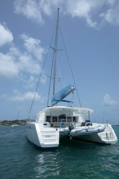 Location Catamaran à Marina Cay - Lagoon Lagoon 450 F