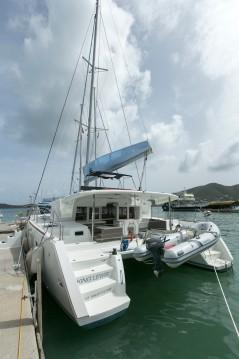 Location bateau Marina Cay pas cher Lagoon 450 F