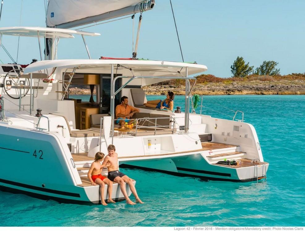 Location Catamaran à Islas Baleares - Lagoon Lagoon 42 - 4 + 2 cab.