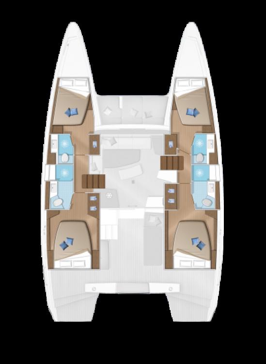 Catamaran à louer à Péloponnèse au meilleur prix