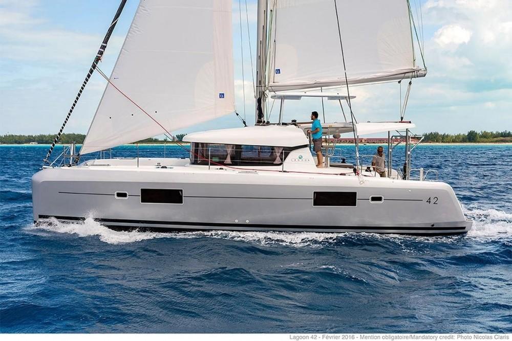 Location yacht à Péloponnèse - Lagoon Lagoon 42 sur SamBoat
