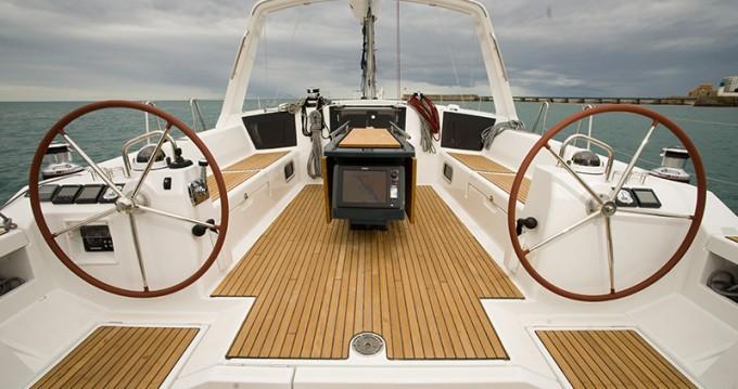 Location bateau Göcek pas cher Oceanis 45