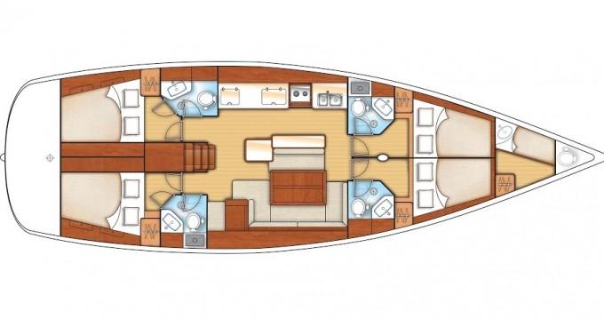 Location yacht à Göcek - Bénéteau Oceanis 50 Family sur SamBoat