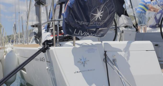 Jeanneau Sun Odyssey 449 entre particuliers et professionnel à Athènes