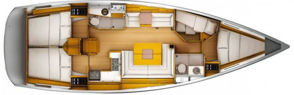 Location yacht à  - Jeanneau Sun Odyssey 449 sur SamBoat