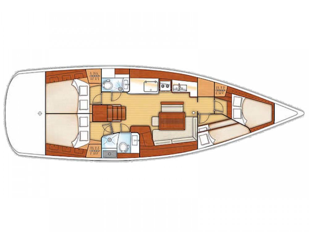 Location bateau Laurion pas cher Oceanis 46