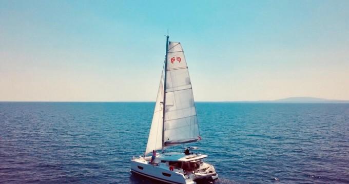 Location Catamaran à Ibiza (Ville) - Fountaine Pajot Lucia 40