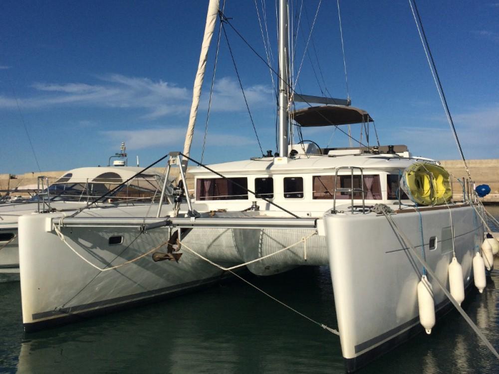 Location bateau Lagoon Lagoon 450 à Torre del Greco sur Samboat