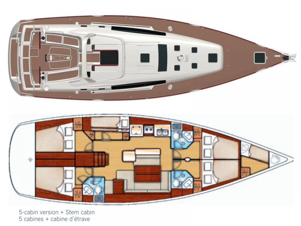 Location yacht à Sibenik - Bénéteau Oceanis 50 sur SamBoat