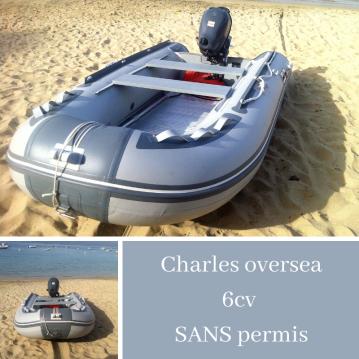 Louer Semi-rigide avec ou sans skipper Charles Oversea à Serra-di-Ferro