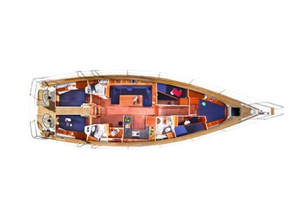 Location bateau Bavaria Bavaria Cruiser 51 à Leucade sur Samboat