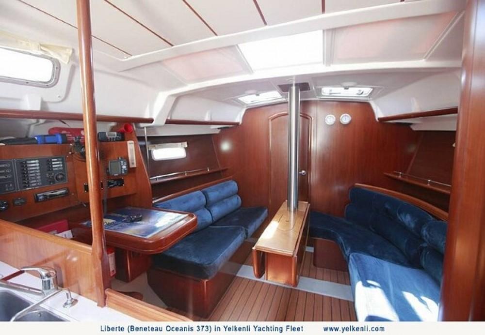 Location bateau Bénéteau Oceanis 373 à Orhaniye sur Samboat