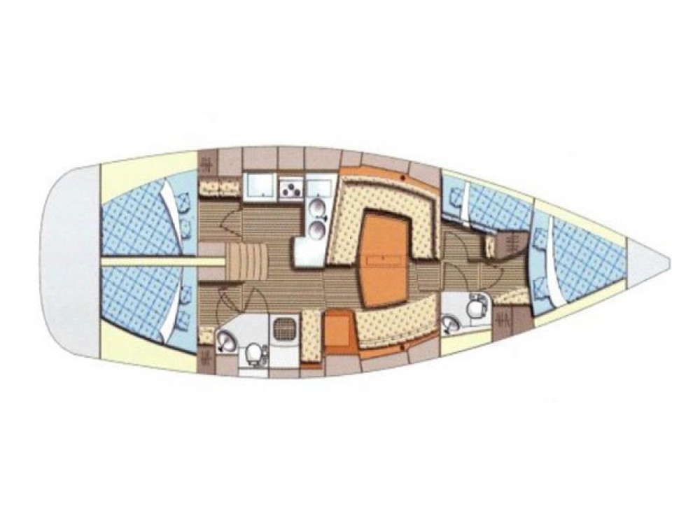 Location bateau Elan Elan 434 Impression à Sukošan sur Samboat