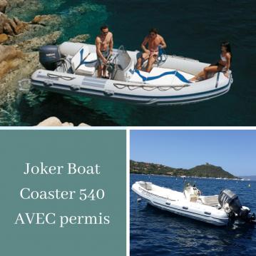 Location bateau Joker Boat Coaster 540 à Serra-di-Ferro sur Samboat
