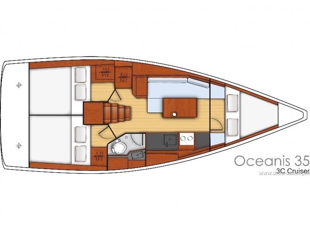 Location bateau Bénéteau Oceanis 35.1 à Split sur Samboat