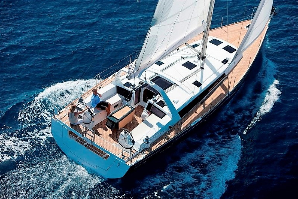 Location bateau Καλαφατιώνες pas cher Oceanis 48