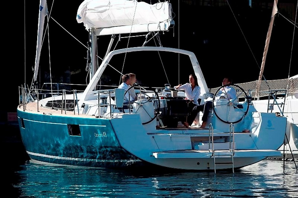 Location bateau Bénéteau Oceanis 48 à Καλαφατιώνες sur Samboat