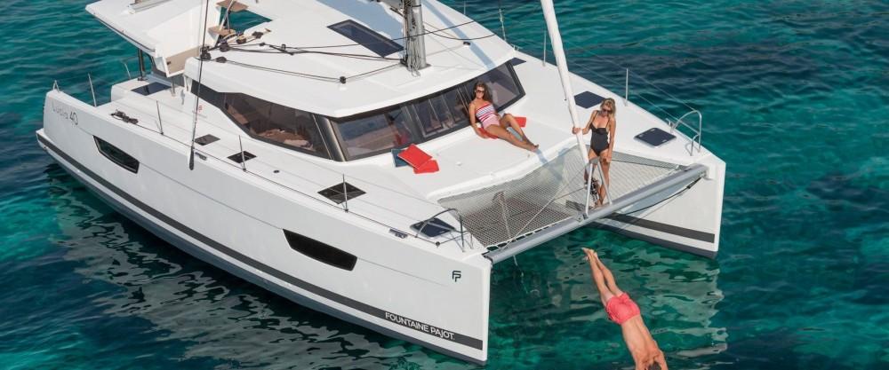 Louer Catamaran avec ou sans skipper Fountaine Pajot à Tourlos