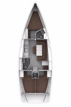 Location bateau Bavaria Cruiser 41S à Biograd na Moru sur Samboat