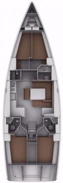 Bavaria Cruiser 45 entre particuliers et professionnel à Biograd na Moru