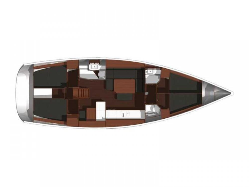 Dufour Dufour 450 GL entre particuliers et professionnel à D-Marin Borik