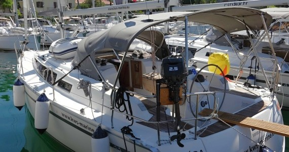 Location yacht à Zadar - Bavaria Cruiser 33 sur SamBoat
