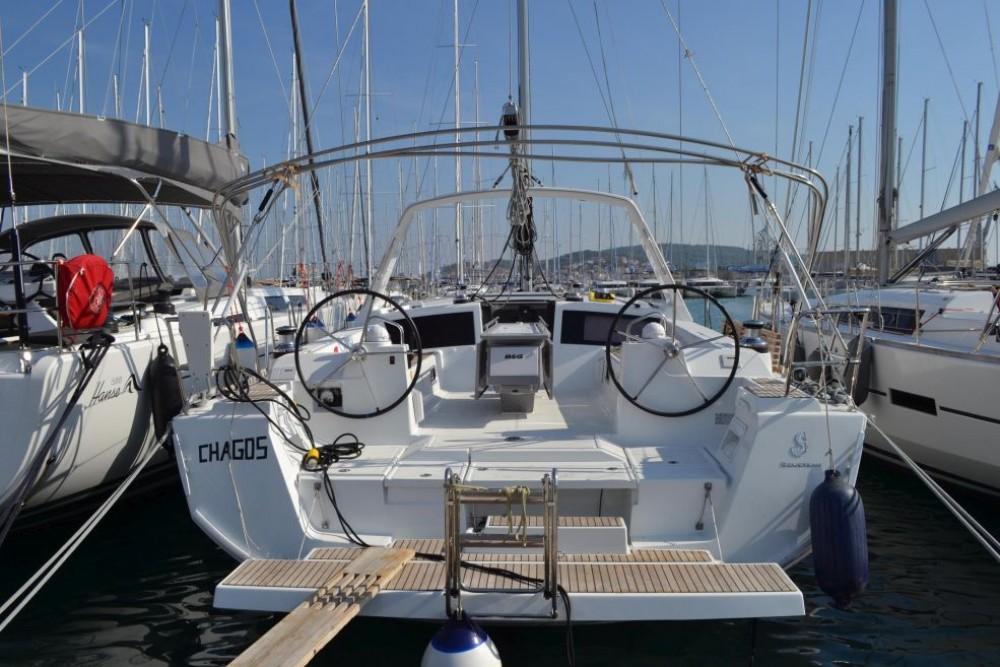Location bateau Bénéteau Oceanis 48 à Trogir sur Samboat