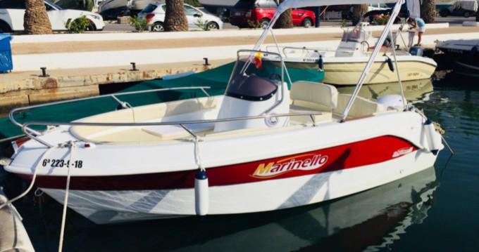 Louer Bateau à moteur avec ou sans skipper Marinello à Torrevieja
