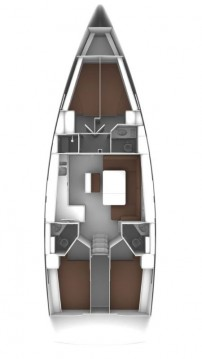 Bavaria Cruiser 46 entre particuliers et professionnel à Biograd na Moru