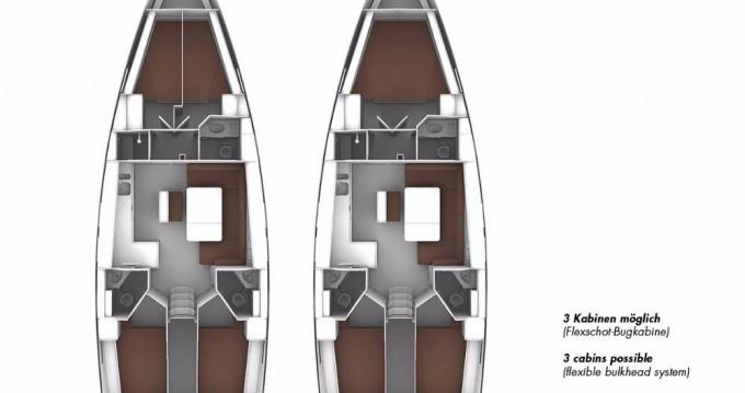 Location bateau Bavaria Cruiser 46 à Göcek sur Samboat