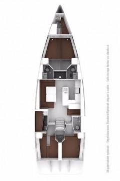 Location Voilier à Biograd na Moru - Bavaria Cruiser 56