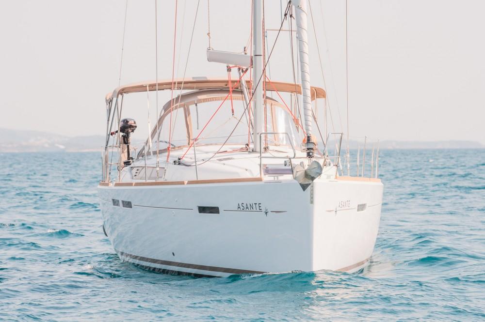 Jeanneau Sun Odyssey 449 entre particuliers et professionnel à Leucade