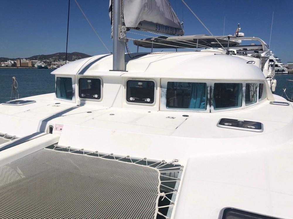 Location yacht à Ibiza - Lagoon Lagoon 380 S2 sur SamBoat