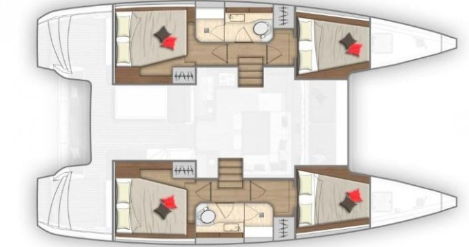 Location yacht à Ibiza (Ville) - Lagoon Lagoon 40 sur SamBoat