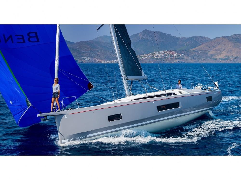 Bénéteau Oceanis 461 entre particuliers et professionnel à Ibiza Magna
