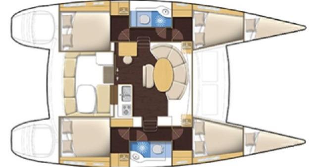 Location bateau Lefkada (Île) pas cher Lagoon 380 S2