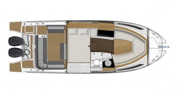 Location bateau Veruda pas cher Jeanneau Cap Camarat 9.0 WA