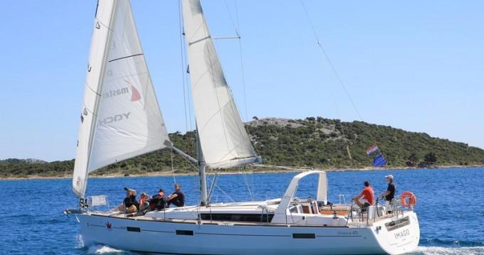 Location bateau Jezera pas cher Oceanis 45